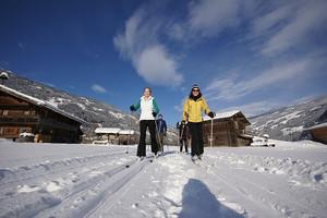 Zillertal, Langlaufloipe Bräufeld, Skifahren